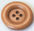 Ridged Wood Buttons